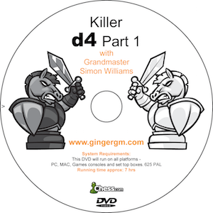 Killer d4 with GM Simon Williams from Ginger GM