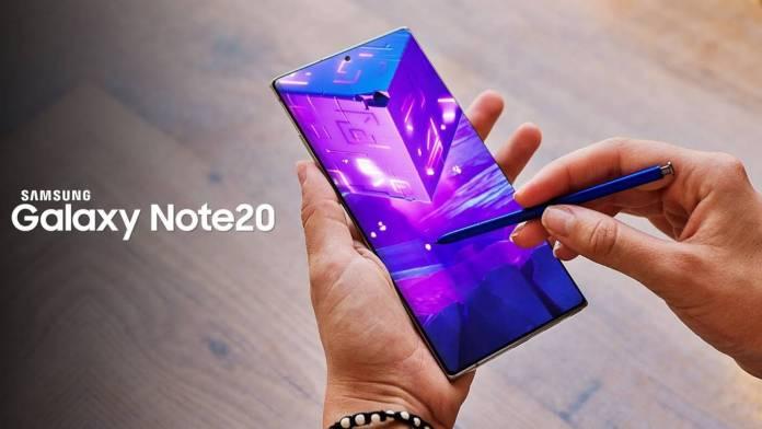 Samsung GALAXY Note 20 inheritance