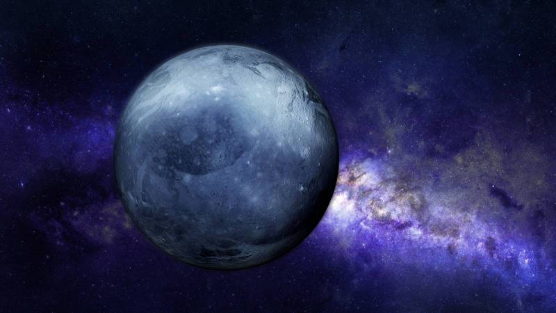 Planet Pluto composition