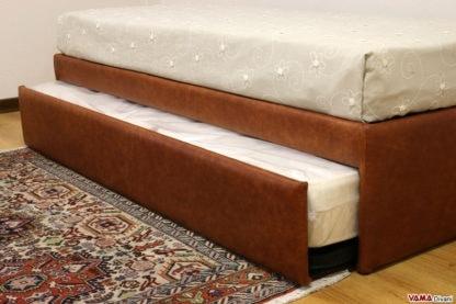 lit escamotable double qui devient un
