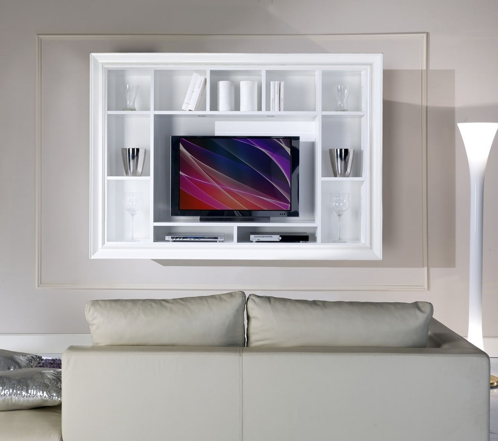 armoire suspendue pour salon idfdesign