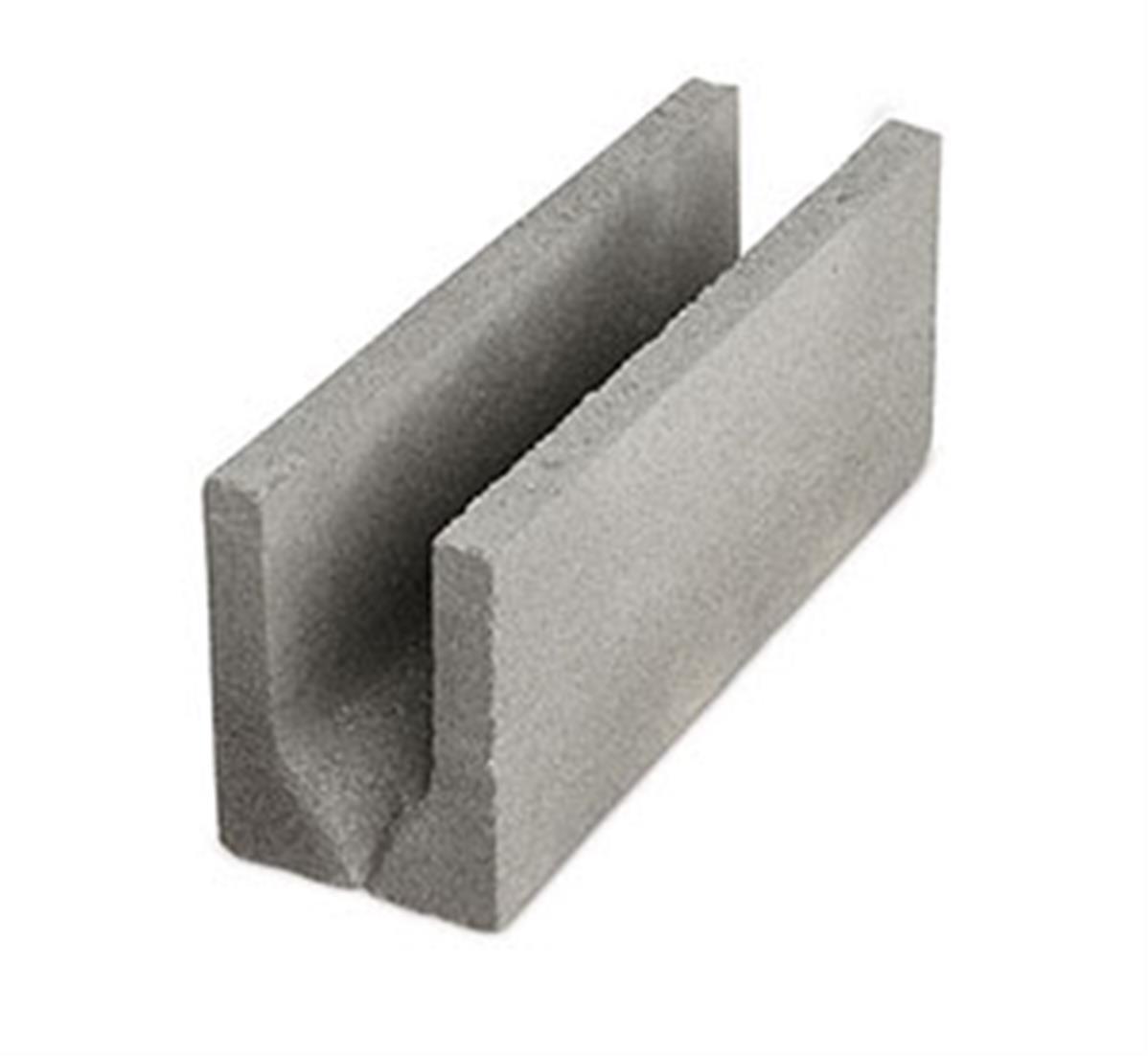 Bloc Beton Linteau B40 200x200x500 Parpaing Chainage Horizontal