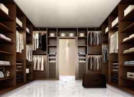 Elegante begehbaren Kleiderschrank für Schlafzimmer, aus ...