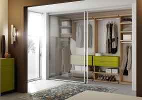 Holz begehbarer Kleiderschrank mit 4 Schubladen und ...