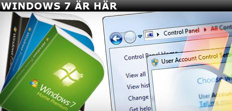 Windows 7 premiär idag.  [bild från idg.se]