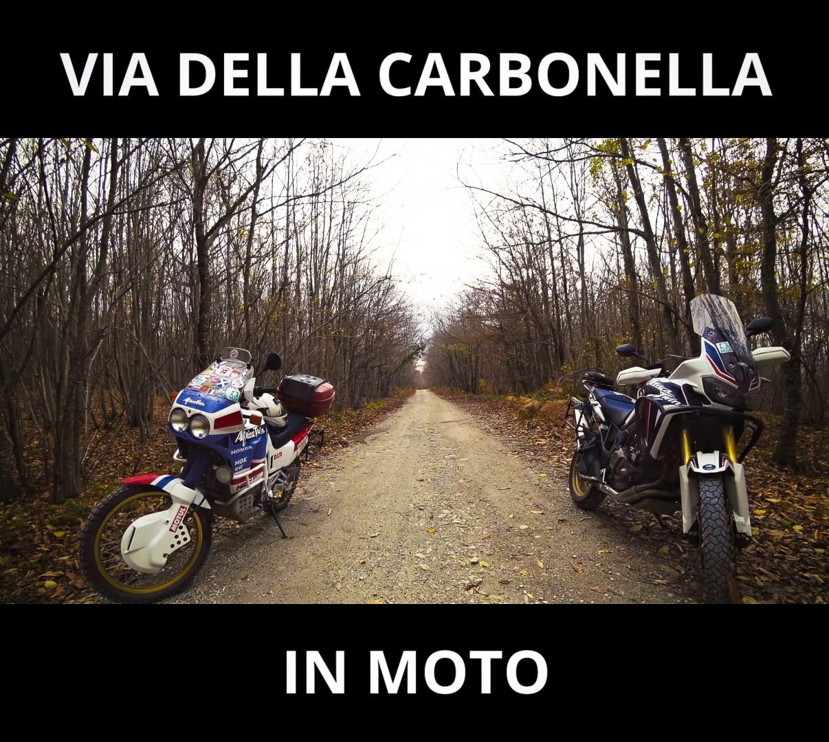 via della carbonella in moto