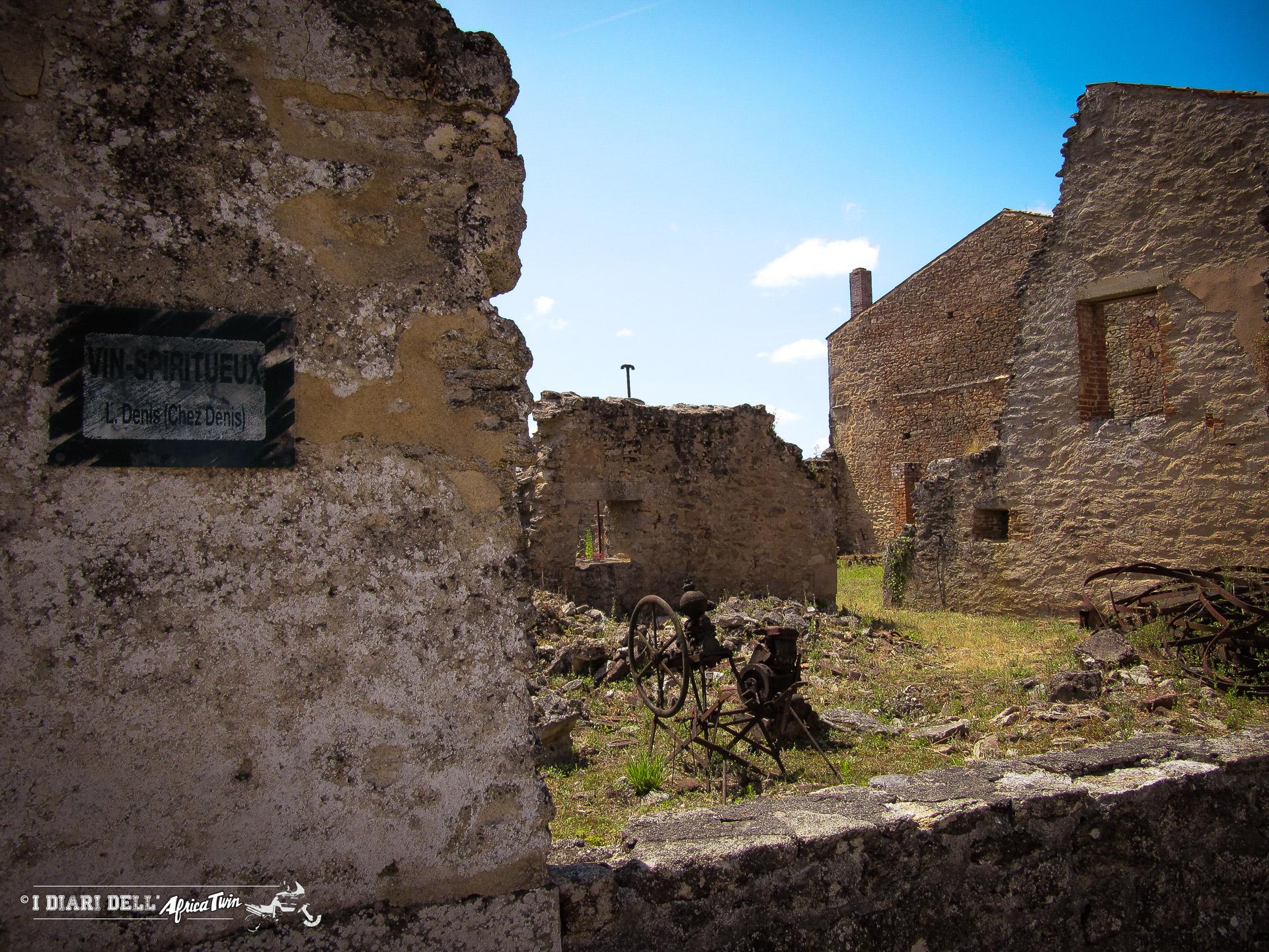 Oradour-sur-glane la città fantasma