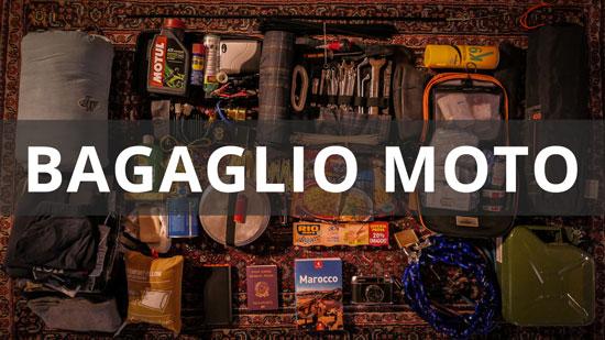 bagaglio moto: come stivare il materiale nelle valigie laterali
