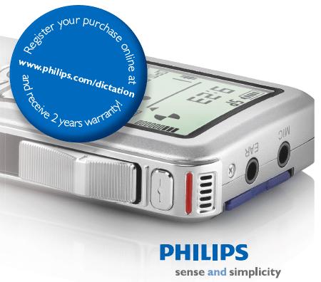 Philips Voice Australia Now Offering 2 Year Warranty |