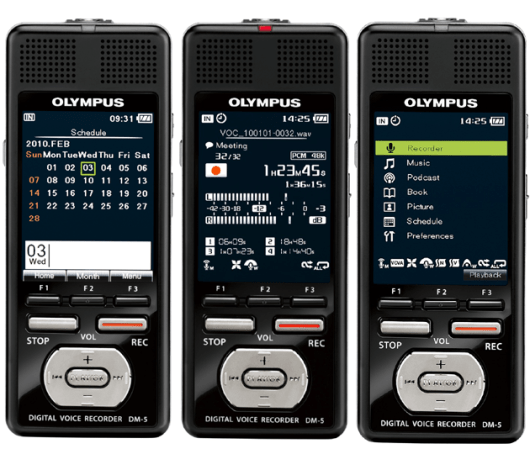 Olympus DM-5 Digital Voice Recorder - Available to buy online from Dictate Australia