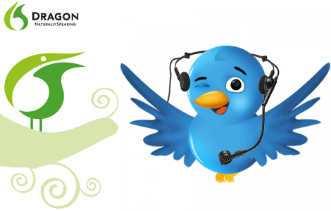 Dragon Nuance NaturallySpeaking Voice Speech Recognition Twitter Accounts