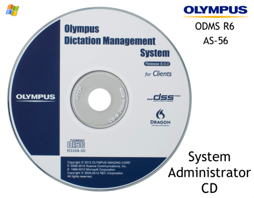 Olympus AS-56 ODMS for System Admins Windows Workgroup