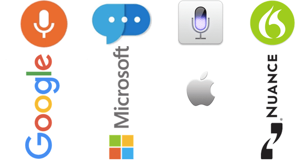 Free Voice Recognition Options - Google vs Microsoft vs Apple