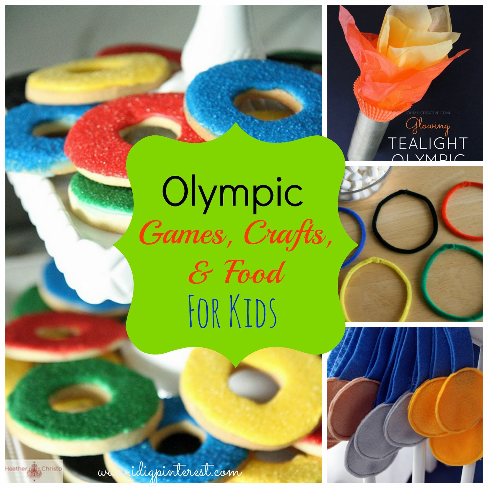 Olympic Games Crafts And Food For Kids