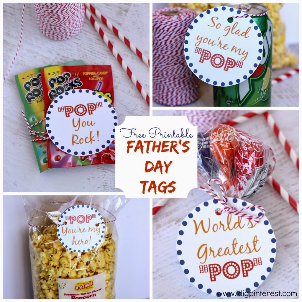 Father S Day Pop Free Printables
