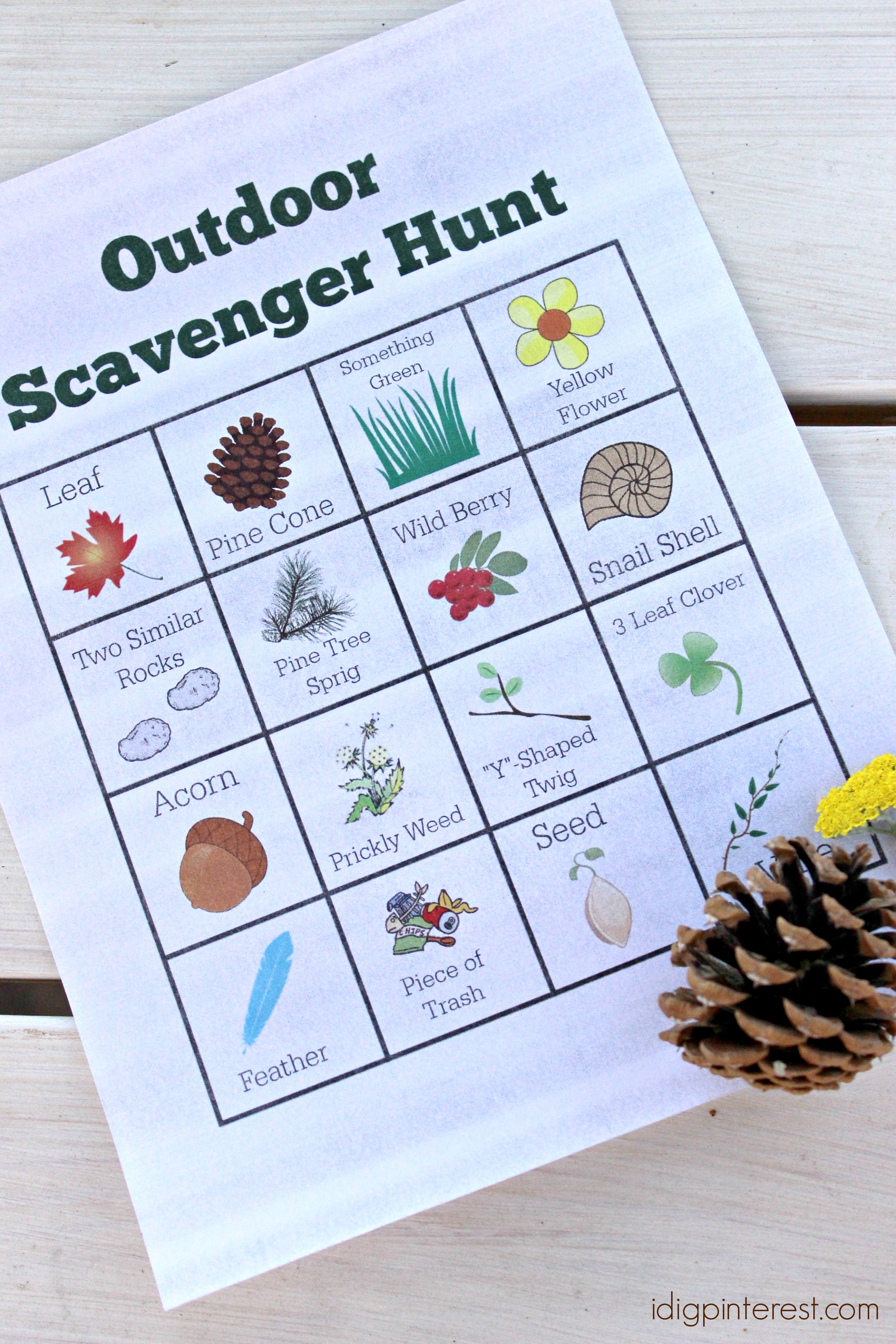 Outdoor Scavenger Hunt Plus How To Have Peace Of Mind While You Re Away From Home