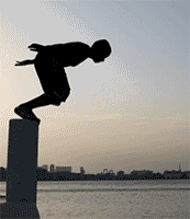 Image result for jumping off point