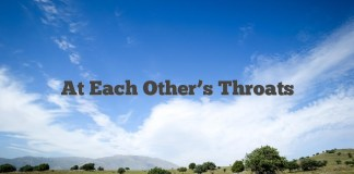 At Each Other's Throats