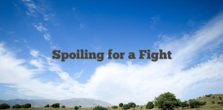 Spoiling for a Fight
