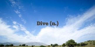 Dive (n.)