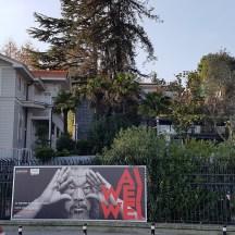 Ai Wei Wei doing his thing