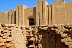 Ruins of Babylon - temple of Ninmah