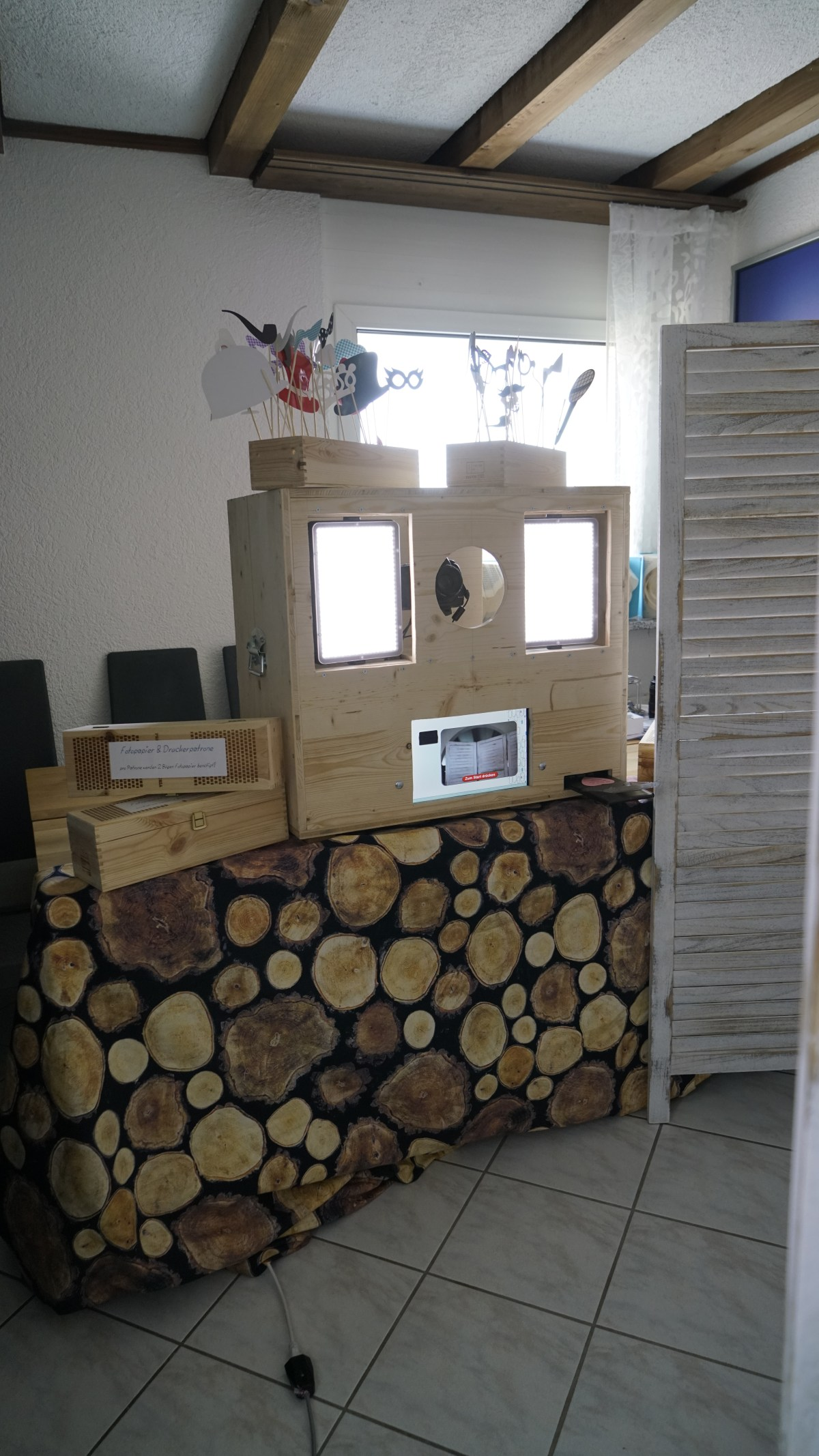 Fotobox im Betrieb