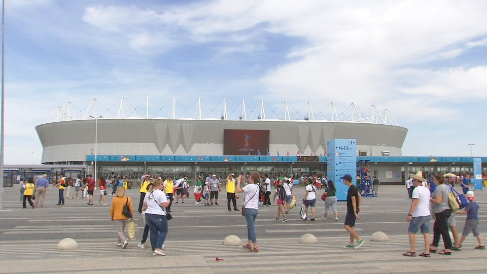 Russian World Cup Stadium