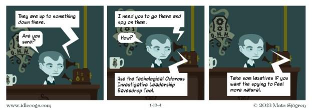 Spy assignment