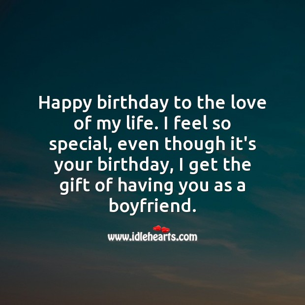 Birthday Wishes For Boyfriend With Images Idlehearts