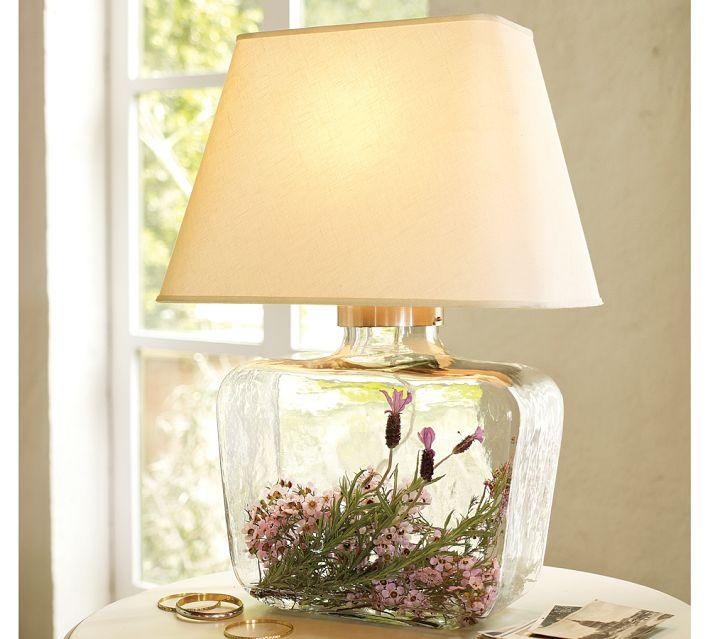 7 Glass Fillable Lamp Ideas Id Lights