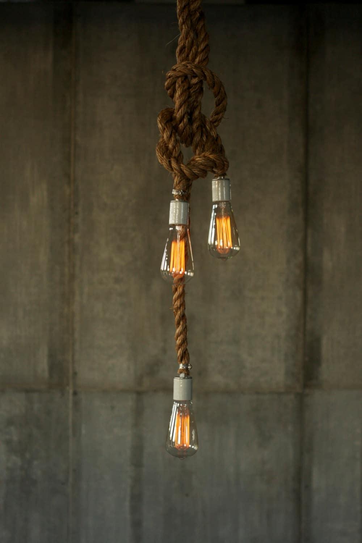 Rustic Wooden Light Fixtures