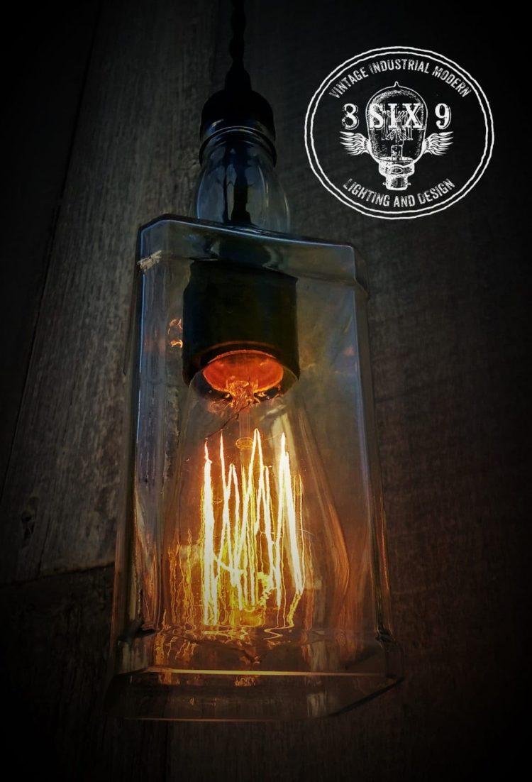 Whiskey Bottle Pendant Lighting Id Lights