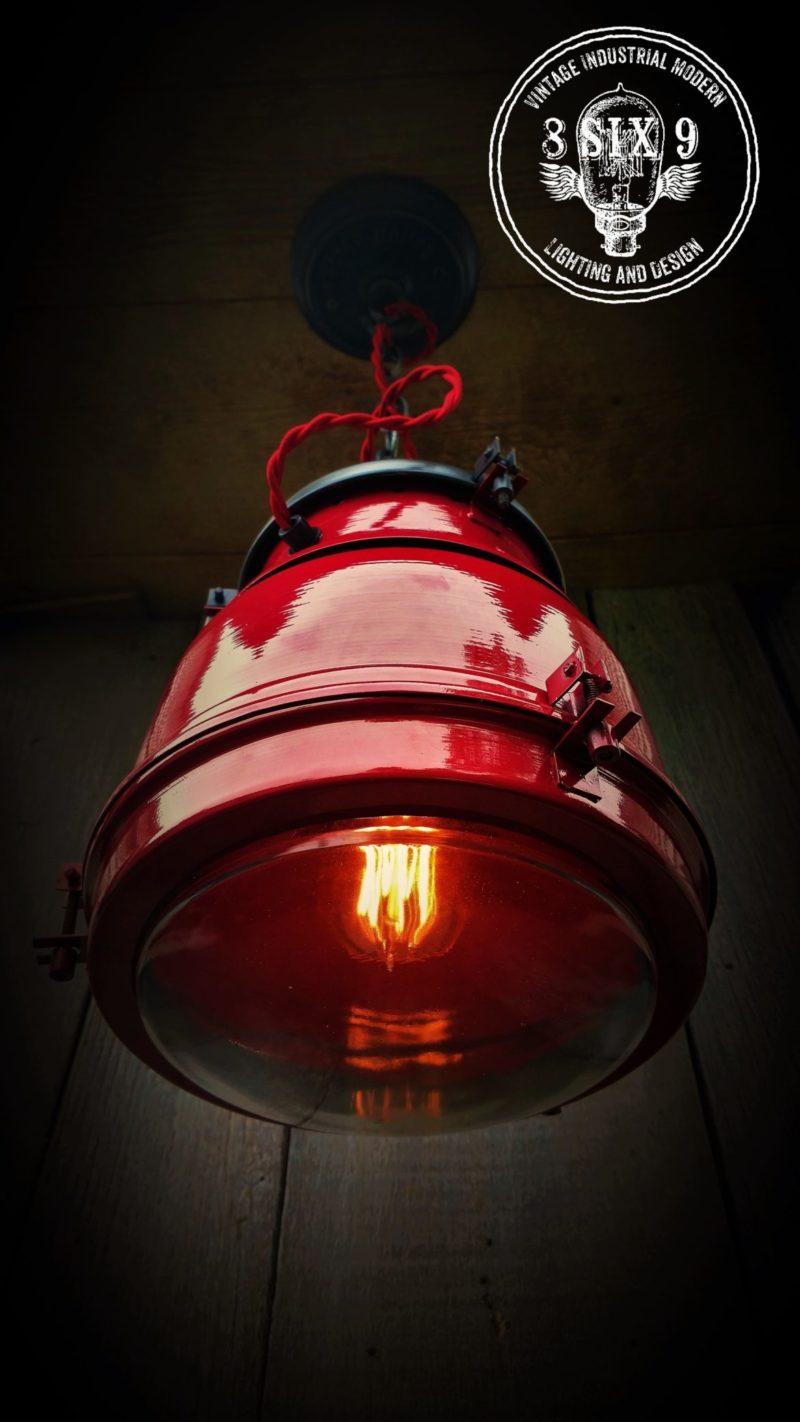 Outdoor Industrial Pendant Lighting