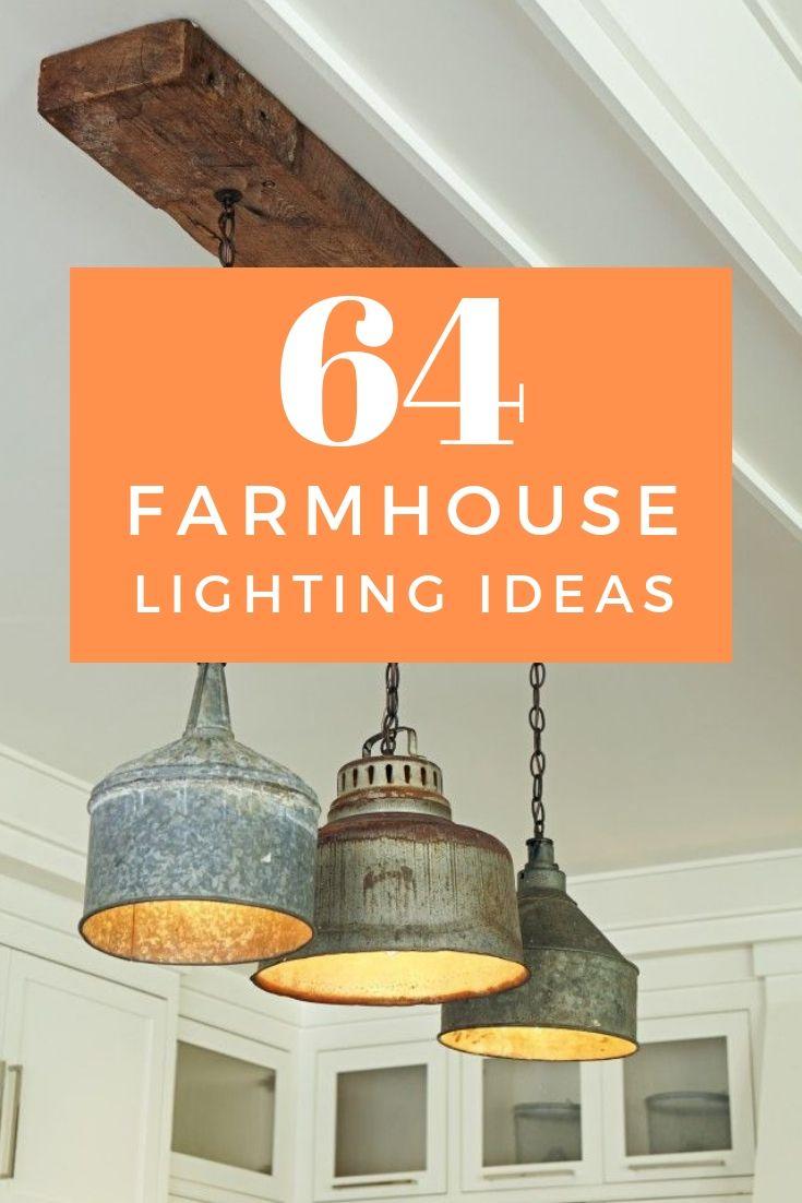 64 vintage farmhouse lighting ideas