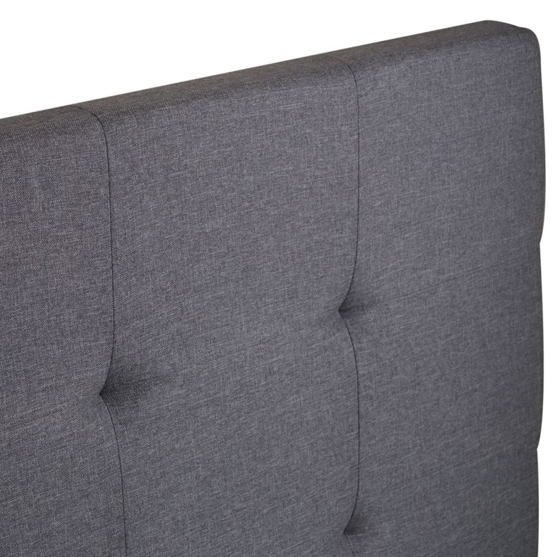 de lit capitonnee en tissu 160x58 cm
