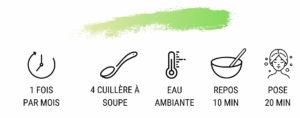 Masque capillaire bio spécial frisés/crépus- IDMOS