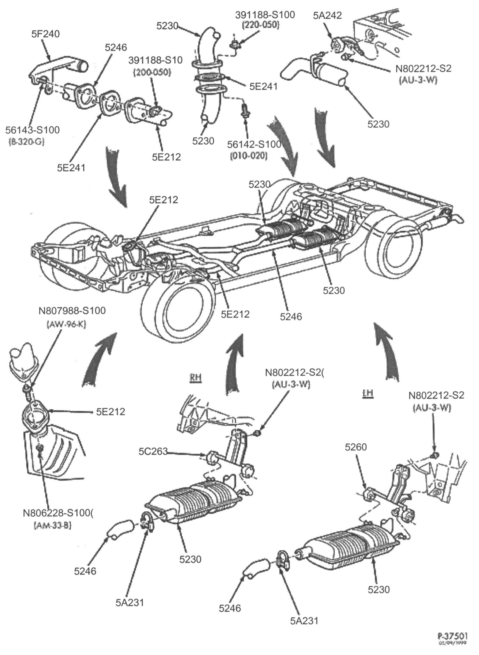 Ford F 150 Exhaust System Diagram With O2 Sensor