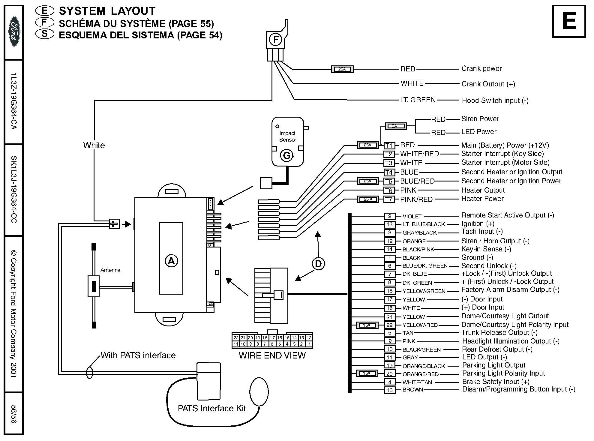 Wiring Harness Remote Wire