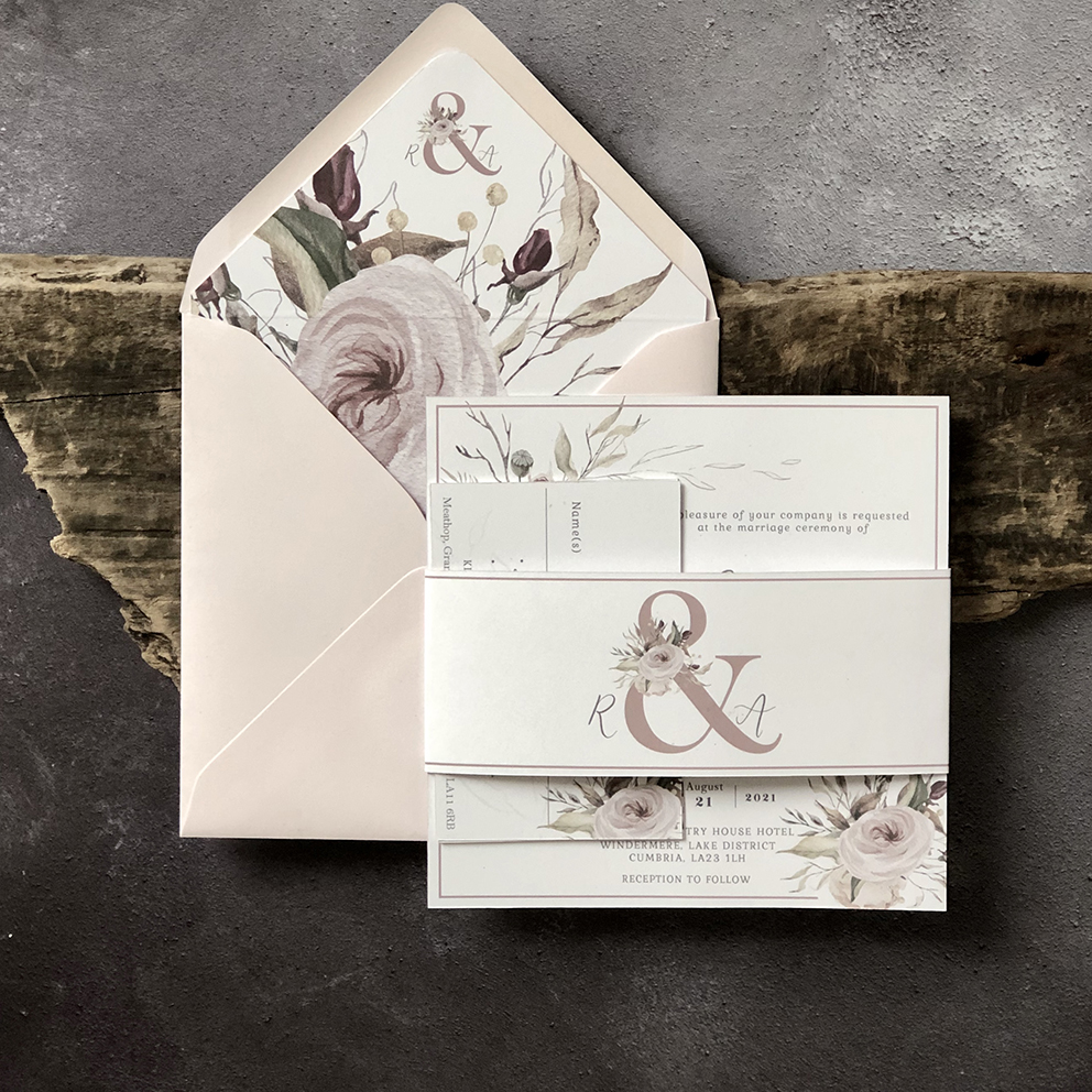 Rosa Wedding Invitation