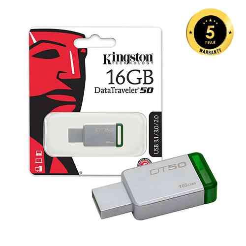 Kingston 16GB Pen drive Data Traveler DT50 | ido.lk