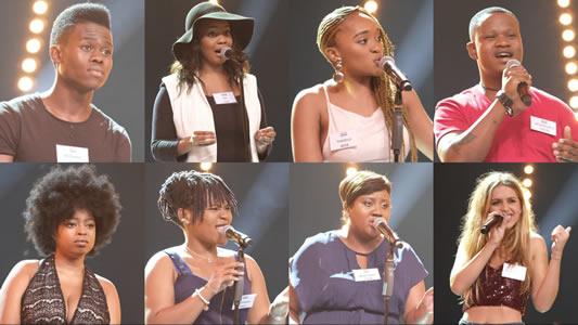Idols SA 2017 top 16 Group 2 performances