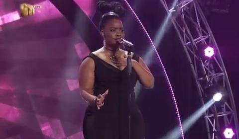 Faith Msibi Performing Next To Me by Emeli Sande