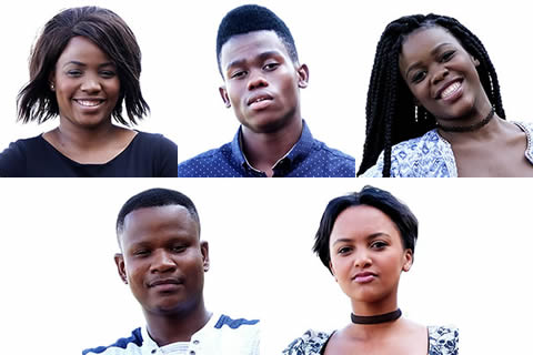 Idols SA 2017 Top 5 Contestants