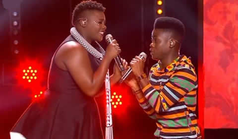 Watch Botlhare Phora And Amanda Black's Duet On Idols SA 2017