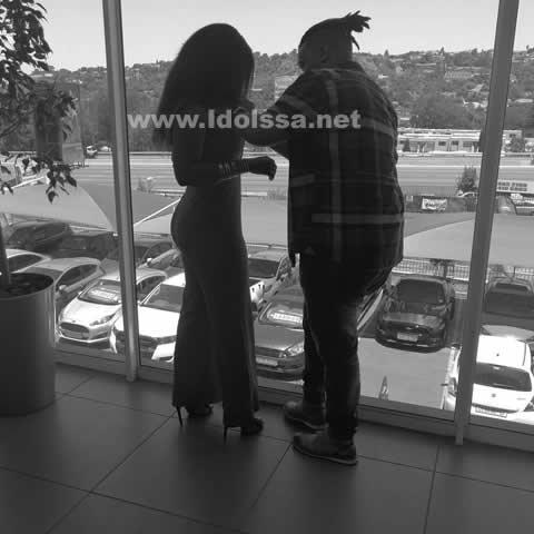 Phindile Dube and Christo Daniels Dating Idols SA 2017