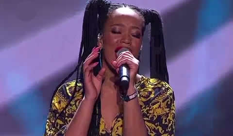 Nosipho Silinda performing Alive By Sia