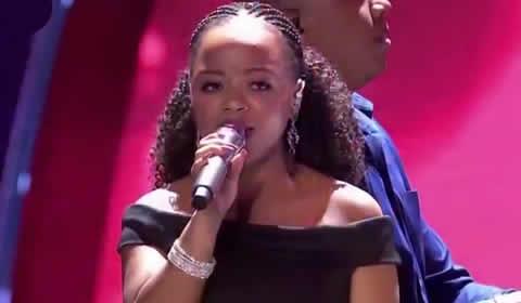 Thando Mngomezulu performing Natural Woman By Aretha Franklin