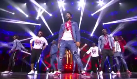 Idols SA 2018 Top 16 Boys Performing Finesse By Bruno Mars
