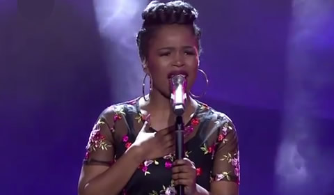 Yanga Sobetwa performing Before You Walk Out My Life By Monica Brown